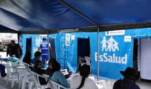 Andahuaylas: EsSalud instala ´Hospital Perú´ por heladas