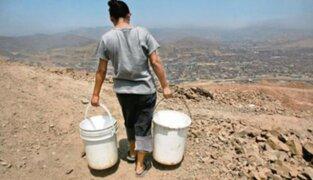 Sedapal: un millón de limeños no cuenta con servicio de agua potable