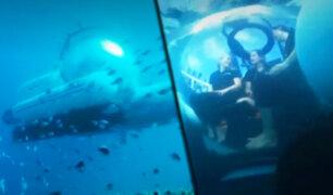 Australia: UBER lanza primer submarino de viaje compartido