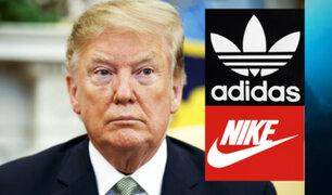 Nike y Adidas advierten a Donald Trump por los aranceles a China