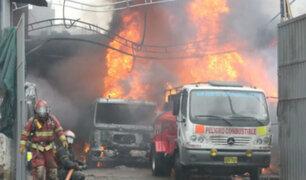 SMP: cierran y multan taller de mecánica incendiado
