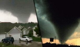 EEUU: fuertes tormentas  y tornados dejan tres muertos en Missouri