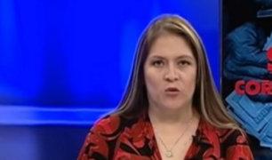 Vilcatoma denuncia que Salaverry suspendió su programa de televisión