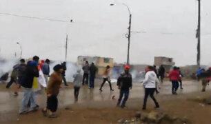 Carabayllo: vecinos protestan exigiendo obras de agua y desagüe