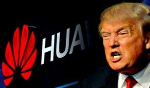 Donald Trump señala que Huawei es ''muy peligroso'' pero podrían llegar a un acuerdo