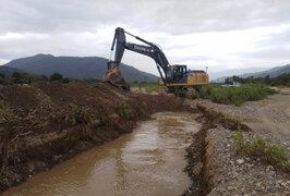 ANA inicia trabajos de limpieza y descolmatación de ríos en Alto Piura