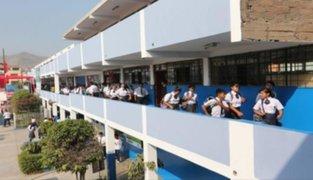Ofrecen 10 mil vacantes en colegios públicos para quienes no lograron matricularse en marzo