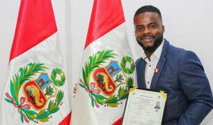 Johnnier Montaño: futbolista colombiano obtuvo la nacionalidad peruana