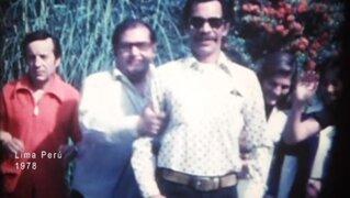 Revelan imágenes inéditas de la vida íntima de Don Ramón en Perú