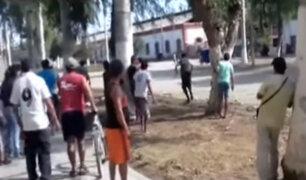 Lambayeque: nuevo enfrentamiento por posesión de azucarera Tumán