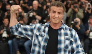 """Cannes 2019: Sylvester Stallone llegó al festival para presentar """"Rambo V"""""""