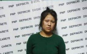 Detienen a mujer de 18 años que apuñaló a su pareja dentro de un hostal