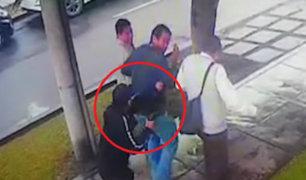 Miraflores: sujeto armado roba 9 mil soles a hombre que caminaba por tranquila calle