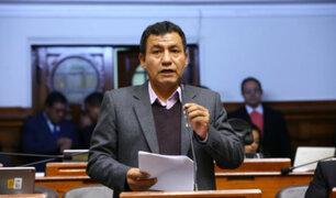 ¿Bancada de Fuerza Popular blindará a Joaquín Dipas?