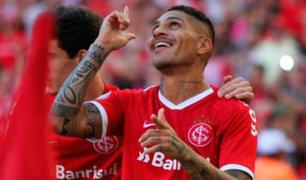 Guerrero es sensación en Brasil tras anotar 7 goles con Inter de Porto Alegre