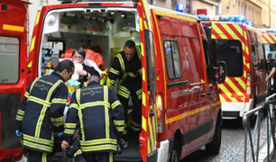 Francia: 13 heridos deja explosión de paquete bomba en Lyon