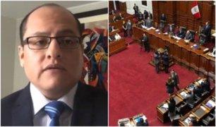 Víctor Hugo Quijada: Hay congresistas que buscan evadirse con argucias legales