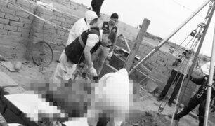 Cajamarca: tres hombres mueren al caer en pozo de agua tubular