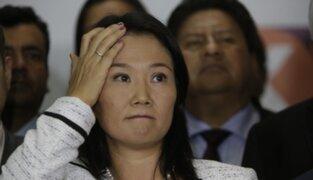 """Keiko Fujimori en su cumpleaños: """"Hoy mi tarea es resistir y salir adelante"""""""