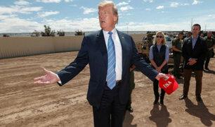 EEUU: juez bloquea temporalmente construcción de muro fronterizo