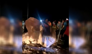 Carretera de Moyobamba quedó restringida tras sismo en Loreto