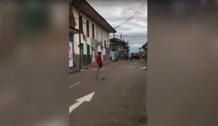 Ciudades de Tarapoto y Yurimaguas reanudan actividades tras fuerte sismo