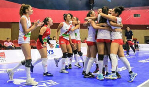 ¡Campeonas! selección de vóley sub – 18 obtuvo la Copa Panamericana tras vencer a Puerto Rico