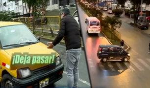 Ranking 'los frescos al volante': infractores que hacen caótico el tráfico
