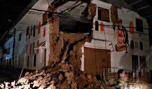 Varios distritos de Loreto y San Martín son declarados en estado de emergencia por sismo