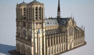 Iniciativa tecnológica busca reconstruir la catedral de Notre Dame en 3D