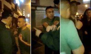 """Ebrio pide que lo lleven a la cárcel para evitar que mujer lo """"viole"""""""