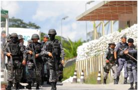 Se incrementa a 57 los muertos por motines en cárceles de Brasil