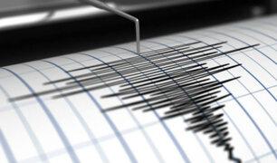 Sismo de magnitud 4.2 se registró esta madrugada en Huánuco