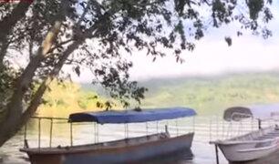 Laguna Azul se queda sin turismo por terremoto