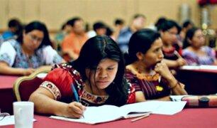 Becas en educación ayudarán a preservar lenguas originarias del Perú