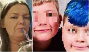 Mujer envenena y asesina a sus dos menores hijos