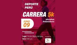 """IPD presentará el jueves la carrera """"Deporte Perú"""" 5k"""