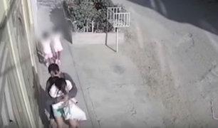 Chiclayo: asaltan violentamente a mujer frente a dos niñas