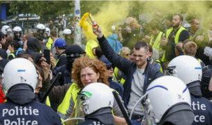 """Bélgica: """"chalecos amarillos"""" protestan por elecciones"""