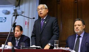 Comisión Permanente: Chávarry criticó duramente al presidente Vizcarra