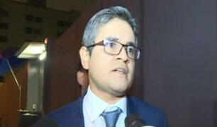 Domingo Pérez se pronunció tras rechazo a destitución de Chávarry