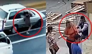 Rímac: delincuentes aprovechan caos vehicular para robar en Vía de Evitamiento