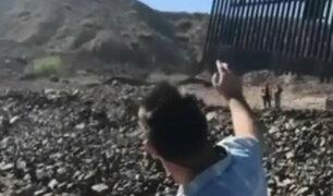 EEUU: veteranos construyen muro con fondos privados