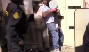 Huancayo: vecinos atacan a policías por instalación de antena de telefonía