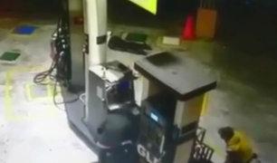 Chimbote: cámaras registraron brutal asalto en grifo