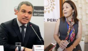 Jefa de Gabinete de Asesores de la PCM presentó su renuncia