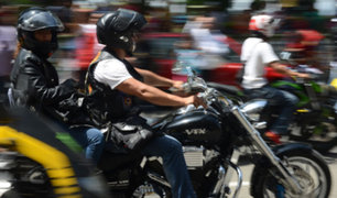 Surco: motos-colectivos son la nueva alternativa informal frente al tráfico