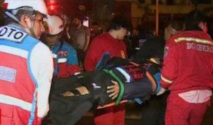 Jesús María: sereno fue atropellado por camioneta de 'raqueteros'