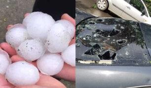 Poderosa tormenta de granizo sacudió Alemania