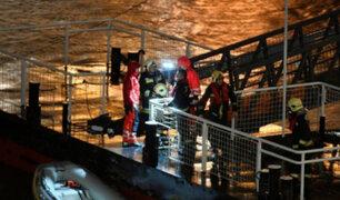 Hungría: naufragio en río Danubio deja 7 personas fallecidas